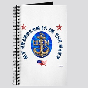 Navy Grandson Journal