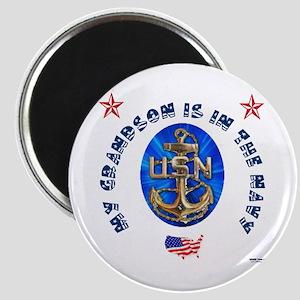 Navy Grandson Magnet
