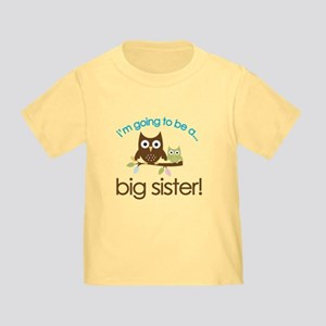 i'm going to be a big sister owl shirt Todd