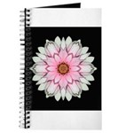 Pink and White Dahlia I Journal