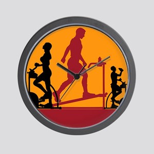 Gym Exercise Fitness Wall Clock