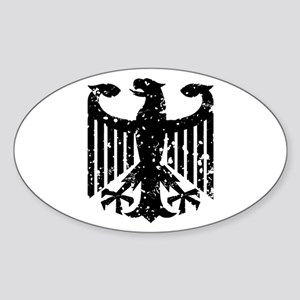 German Eagle Oval Sticker