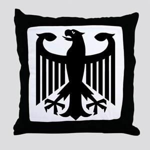 German Eagle Throw Pillow