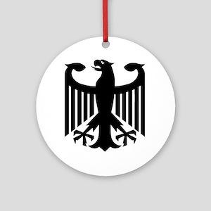 German Eagle Ornament (Round)