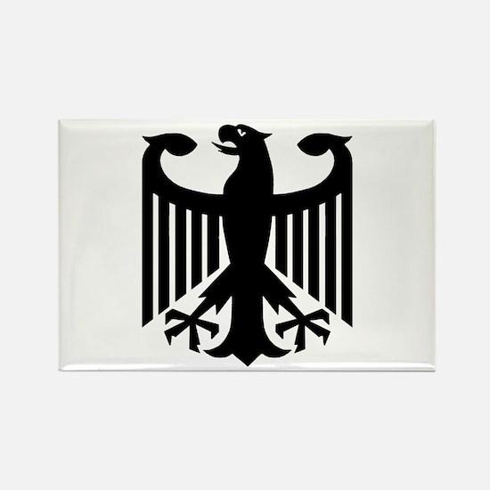 German Eagle Rectangle Magnet