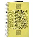 Celtic Letter B Journal