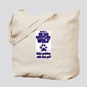 Wrestling Tourney Tote Bag (WOLF/Big and Bad)