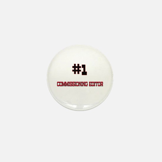 Number 1 COMMISSIONING EDITOR Mini Button