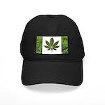 Legalize Marijuana Cannabis Flag Black Cap