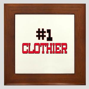 Number 1 CLOTHIER Framed Tile