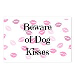 Beware of Dog Kisses Postcards (Package of 8)