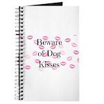 Beware of Dog Kisses Journal