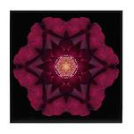 Beach Rose I Tile Coaster