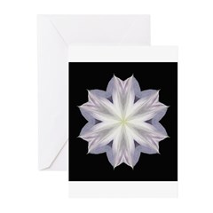 Clematis I Greeting Cards (Pk of 10)