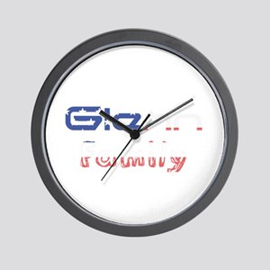 Glenn Family Wall Clock