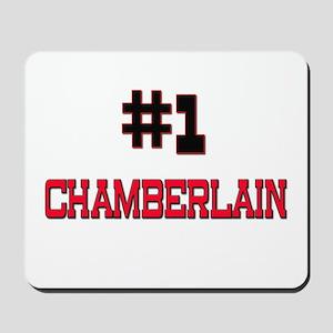 Number 1 CHAMBERLAIN Mousepad