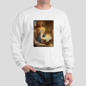 Vintage Christmas Nativity Sweatshirt