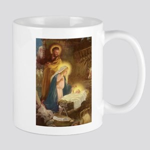 Vintage Christmas Nativity Mug