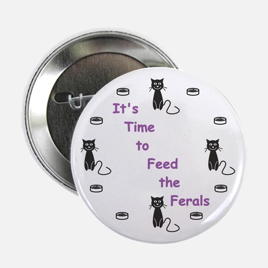 "Feral Time 2.25"" Button"
