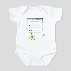 SOLO CERTIFICATE ? MIL Infant Bodysuit