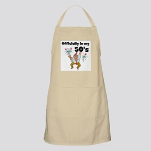 Officially 50s BBQ Apron