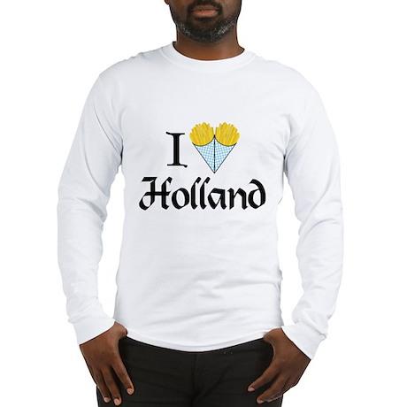 I Love Holland Long Sleeve T-Shirt