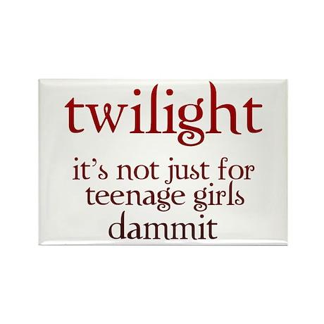 twilight, Not Just for Teenag Rectangle Magnet