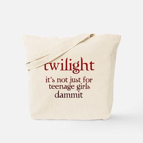 twilight, Not Just for Teenag Tote Bag