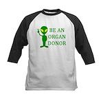 Be An Organ Donor Kids Baseball Jersey