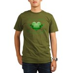 Give Hope Organic Men's T-Shirt (dark)
