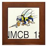 NMCB 18 Framed Tile