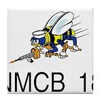 NMCB 18 Tile Coaster