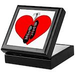 Ghillie Heart Keepsake Box