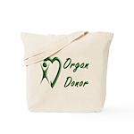 Organ Donor Tote Bag
