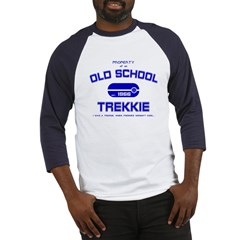 Blue - Old School Trekkie Baseball Jersey