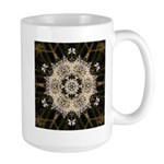 Queen Annes Lace I Large Mug