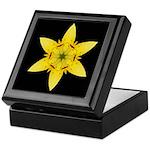 Yellow Lily I Keepsake Box
