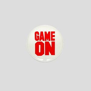 Game on Mini Button