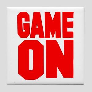 Game on Tile Coaster