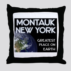 montauk new york - greatest place on earth Throw P