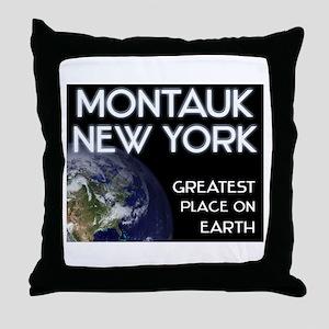 montauk new york - greatest place on earth Throw P
