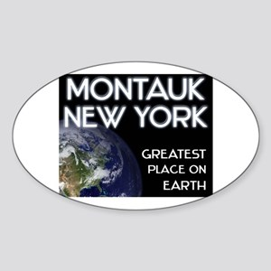 montauk new york - greatest place on earth Sticker