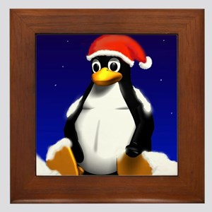 Tuxicle! Framed Tile