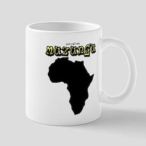 muzungu africa Mugs