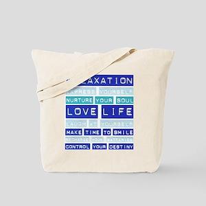 Go Green Love Life Tote Bag