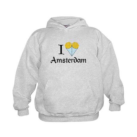 I Love Amsterdam Kids Hoodie