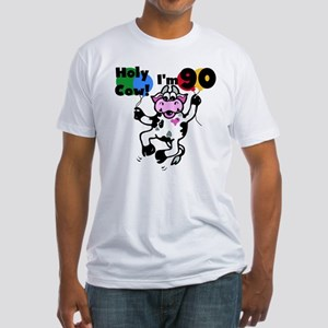 Holy Cow I'm 90 Fitted T-Shirt