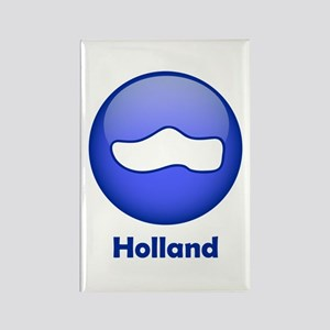Holland Wooden Shoe Rectangle Magnet