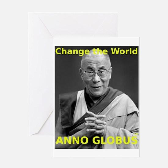 Anno Globus - Greeting Card