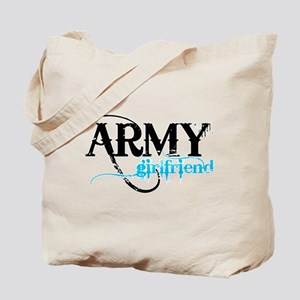 Light Blue Army Girlfriend Tote Bag